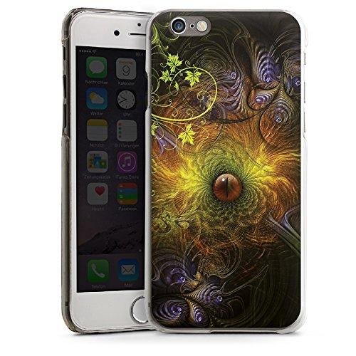 Apple iPhone 5 Housse Étui Silicone Coque Protection ¼il ¼il Fleurs CasDur transparent
