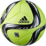 adidas Winterspielball Conext 15, Solar Yellow/Black/Silver Met/White, 5, M36881