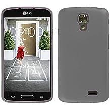 TBOC® Funda de Gel TPU Negra para LG F70 D315 de Silicona Ultrafina y Flexible