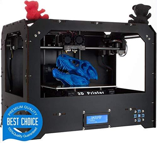 Impresoras 3D, Abcs Printing Bizer Desktop Impresora 3D extrusora doble, Mk8, fábrica directa de menor precio, con filamento ABS o PLA