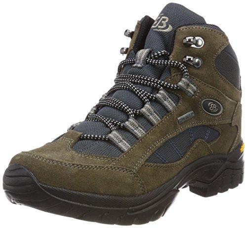 Brütting Chimney Rock, Chaussures de Randonnée Hautes Homme Marron (Braun/grau)