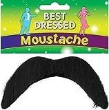 Fancy Me - Moustache Homme Style Mario Luigi Style Mexicain 1970s 118 118 60s pour Costume de Déguisement