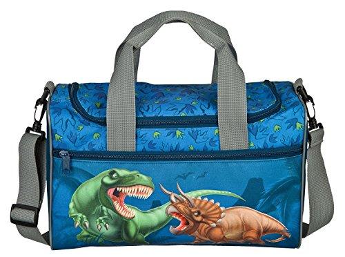 """Dinosaurier Schulranzen Set Ergo Style T-Rex World """"Raptor"""" 9tlg. Dose/Flasche Sporttasche Schultüte 85cm 30558 - 5"""