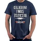 Photo de Because I Was Inverted Top Gun Men's T-Shirt par Cloud City 7