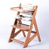 Hochstuhl Treppenhochstuhl Babyhochstuhl Kinderhochstuhl Kindertreppenhochstuhl Babystuhl NATUR 6551-D01 C