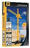 JCB HTI riesiger Spielzeug Kran Fernsteuerung und Zubehör schwenkbar 120 cm