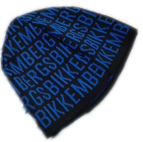 Cuffia Uomo Bikkembergs HAt berretto cappello In lana Invernale Nero blu