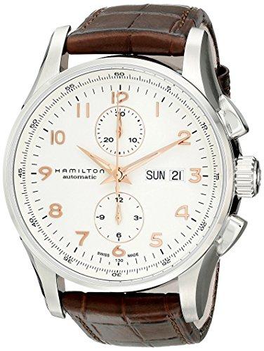 Hamilton Jazzmaster Maestro Auto Chrono – Reloj (Reloj de pulsera, Masculino, Acero inoxidable, Acero inoxidable, Marrón, Zafiro)