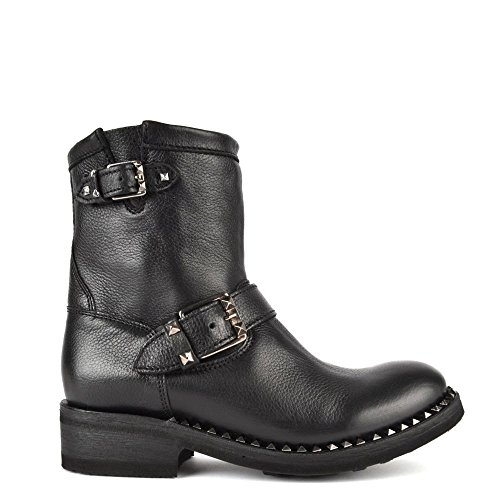 Ash Stivali Truth Black Biker Boot 38 EU Nero