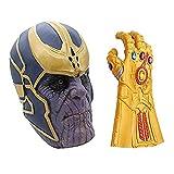 MIMINUO Máscara de Cosplay de Avengers Infinity War con Accesorios de...