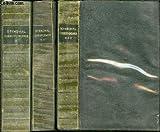 CORRESPONDANCE EN 3 TOMES - TOME 1 (1800-1821) + TOME 2 (1821-1834) + TOME 3 (1835-1842).