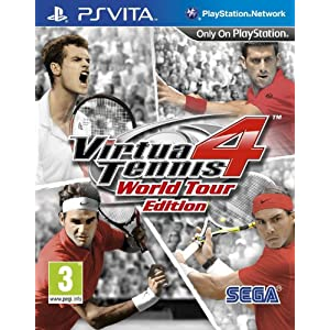[UK-Import]Virtua Tennis 4 World Tour Edition Game PS Vita