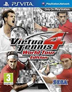 Virtua Tennis 4 - World Tour Edition (PlayStation Vita) [Importación inglesa] (B00690M0FI) | Amazon price tracker / tracking, Amazon price history charts, Amazon price watches, Amazon price drop alerts