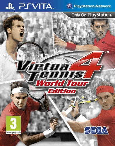 Virtua Tennis 4 - World Tour Edition (PlayStation Vita) [Importación inglesa]