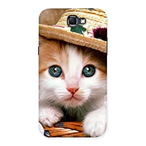 Gorgeous Premium Cute Hats Cat Multicolor Back Case Cover for Galaxy Note 2