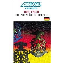 Deutsch ohne Mühe heute (coffret 4 cassettes)