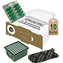 OFERTA, 10bolsa de aspiradora Filtro Juego blancas y aroma de abeto para Vorwerk Kobold VK 130, Kobold VK 131y 131SC con EB 350/EB 351