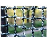 Rete da arrampicata all'aperto, rete da gioco for arrampicata giocattolo for bambini Rete da allenamento, rete anticaduta for scale di sicurezza in corda, rete di protezione for parco giochi 1x5m