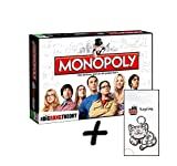 Big Bang Theory Monopoly The TBBT Brettspiel Deutsch + Zusatzartikel Tasse Schlüsselanhänger (+ Kitty Schlüsselanhänger)