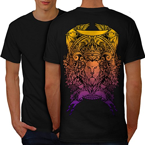 King Animal Lion Face Mad Men M Ringer T-Shirt | Wellcoda (Mad Men-anzug)