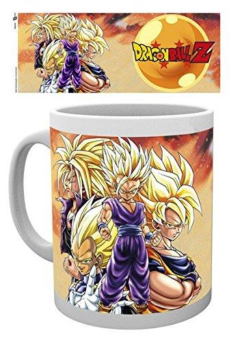 "GB eye Ltd-Stampa ""Super Saiyans"" Dragon Ball Z-Tazza multicolore"