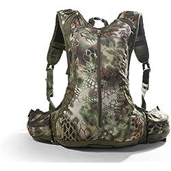 Al aire libre mochila 20L camuflaje hombros paquete táctico bolsillos Wild bolsa para caza, Camping, Senderismo, shandise