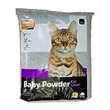 Katzenstreu Petplus mit Babypuderduft, 2 x 15 kg