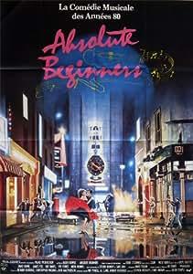 Affiche de cinéma originale - ABSOLUTE BEGINNERS - format 120 x 160 cm