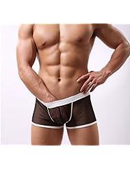 Sous-Vêtements Pour Hommes Sous-Vêtements Transparent Boxer.