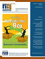 The Retirement Management Journal: Vol. 4, No. 1, Special Double Issue: Volume 4