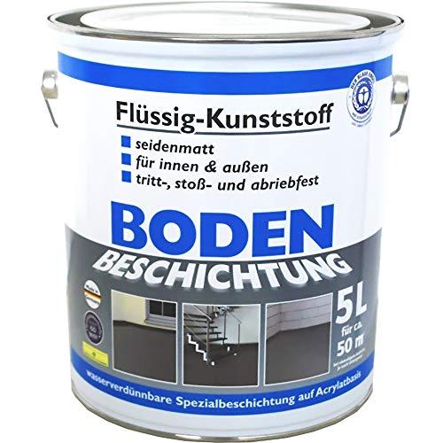 Niedrigerer Preis Mit Bodenbeschichtung 2k Bodenversiegelung Ca 25 M² Aktion Schwarz Bodenfarbe