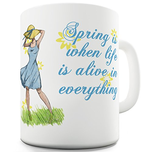 Twisted Envy Spring Breeze in ceramica a forma di tazza