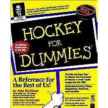 Hockey for Dummies (Hockey for Dummies, 1st Ed)
