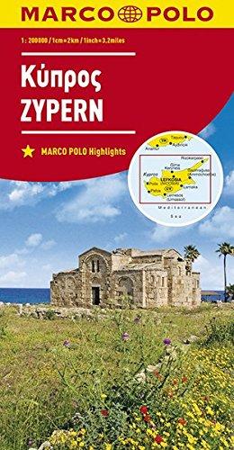Preisvergleich Produktbild MARCO POLO Karte Zypern 1:200 000 (MARCO POLO Karten 1:200.000)