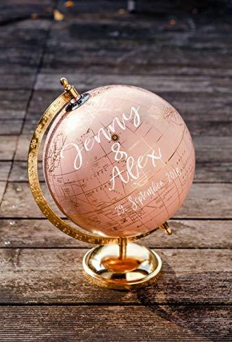 Hochzeit Globus Gästebuch