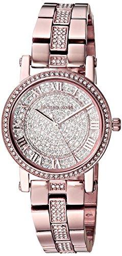 Michael Kors Damen Analog Quarz Uhr mit Edelstahl Armband MK3776