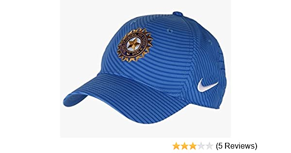 Nike India Cricket Cap (Blue)  Amazon.in  Sports 95f42576b910