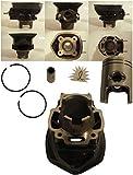 Zylinder und Kolben Aprilia SR Di Tech Piaggio Purejet Motor 50 ccm 2T LC