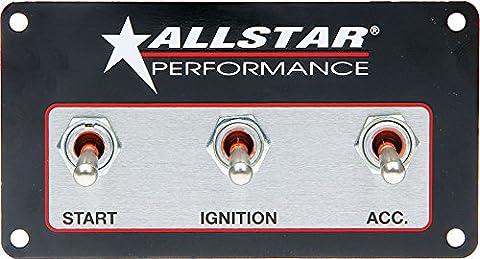 Allstar Performance 80165 Weatherproof Switch Panel Three Switches