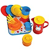 Gowi Toys Coffee Service Set (Blue) - 18 Play Pieces