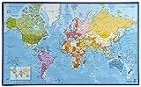 Viquel 135409–06Schreibunterlage Weltkarte