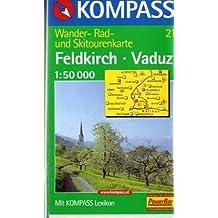 Kompass Karten, Feldkirch, Vaduz