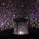 Aeeque® Romantisch / Schwarz Sternenhimmel Mini-Stern-Projektor / mit USB Kabel / LED Nachtlicht Projektor Lampe Kinder Nachttischlampe Schlafzimmer Haus Dekoration