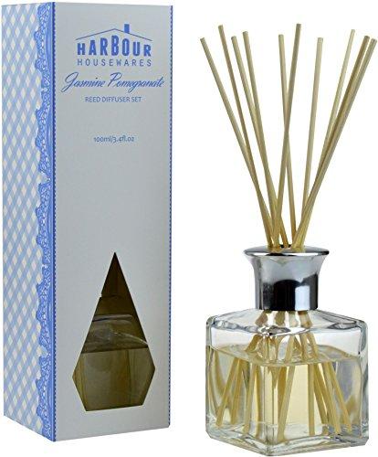Diffuseur à bâtonnets de roseau - parfum/désodorisant - Jasmine Pomegranate 100 ml