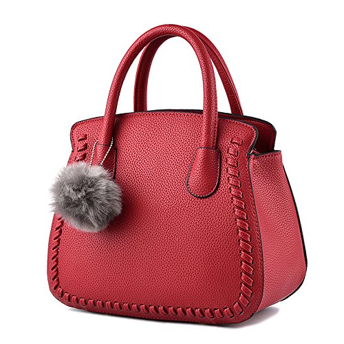 Anne, Borsa a mano donna Wine red