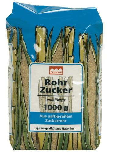 Rohrzucker. unraffiniert (1 Kg)