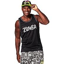 """Zumba Fitness Let's Win This Camiseta de tirantes para hombre con texto """"Zumba"""", hombre, color Back to Black, tamaño extra-large"""