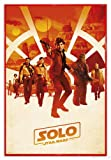 Star Wars Solo: A Story Poster One Sheet (94x63,5 cm) gerahmt in: Rahmen Rot