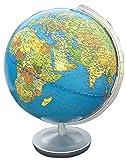553011 Terra Globus mit silberfarbener Armatur, 30 cm