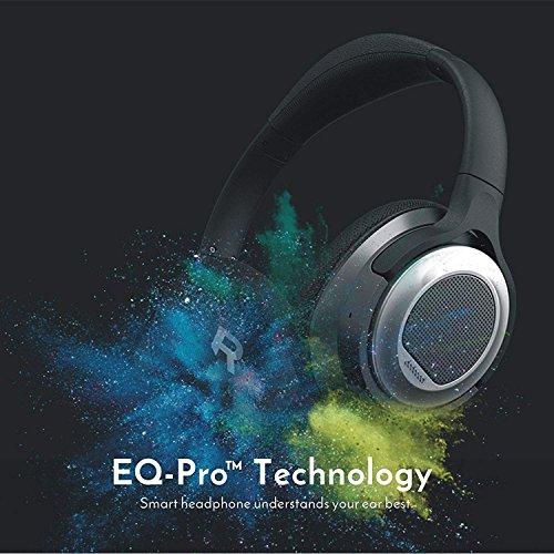 Cuffie Bluetooth con Cancellazione del Rumore,dodocool EQ Curve Cuffie Bluetooth Senza Fili Over Ear On Ear Stereo HiFi Intelligenti Bassa Latenza con Microfono,20 Ore di Gioco Cuffie Vivavoce
